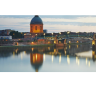 Toulouse, a city in France, is the capital of the Occitanie region, located towards the south of France and is not too far away from the border of Spain.
