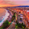 Nice, a city in France is the capital of the Alpes-Maritimes area of the French Rivera.