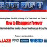 Patriot Privacy Kit is a guide that teaches on privacy protection and privacy breach detection and what to do when that happens.