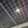 Bifacial modules produce solar power from both sides of the panel (ऐसा सोलर पैनल, जो दोनों तरफ से बिजली बनता है).