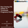 Women can buy Cytolog pill online from Safeabirtionpillrx.com to easily terminate a pregnancy under 56 days