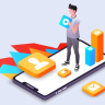 Mobile app development is undergoing a transformational process. You can run mobile applications on different platforms by advancing micro-processing technology