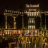 Claridges the 5-star hotels in New Delhi which are surrounded by greenery and lined with swaying trees.