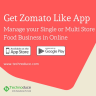 Looking to build you own on-demand restaurant delivery business app like Zomato to start delivery business? Get your customizable food ordering & delivery app.