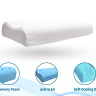 The cervical contour memory foam pillow is changed your life with growing the mind. This pillow provides relieves cervical pain, back pain, and shoulder pain.