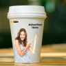 Using coffee cups sleeves to advertise is an innovative tactic that is part of in-the-hand advertising.