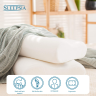 Memory Foam Pillow is especially recommended by Sleepsia pillow is made from the high-quality memory foam which provides the best support to the neck and back.