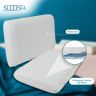 Memory foam pillow for your better life. With the presence of gel, this pillow adjusts perfectly to your body temperature and provides relief to all pains.