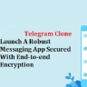 Telegram Clone for various online communication business and personal needs.