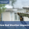 Bad weather causes many things and it can certainly impact your roof...