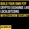Build your own crypto exchange platform like LocalBitcoins with the team of Experts at WeAlwin technologies