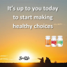 The choices you make for what you eat and drink can get you on a healthier path when they are balanced and nutritious.