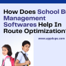 Venturing into the transportation services business? Try out Appdupe's school bus management software that ensures safe travel, thereby making it