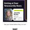 Join Janette on Bright as she delves into how to tell & sell your story in a media interview or speech.