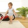 Covering your floor with carpeting or rugs can make any room more cozy and welcoming. Regular cleaning keeps them looking their best and smelling fresh.