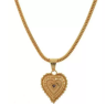 If you also want a pearl necklace with a gold heart, we recommend you purchase it from Evelyn Rae's Boutique.
