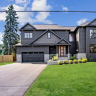 This home in Oakville displays Fasada windows beautifully on both the exterior and interior.