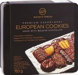 Western Family Premium European Cookies Assorted