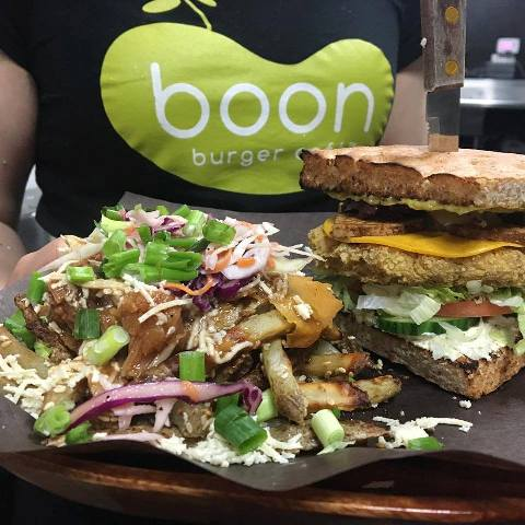 Boon Burger Burlington, Fresh Daily, Veggie Burgers