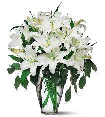 Wedding Flowers Lilies Wedding Centerpiece