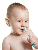 Infants oral health