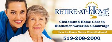 Retireathome, Guelph, Kitchener, Cambridge, Waterloo