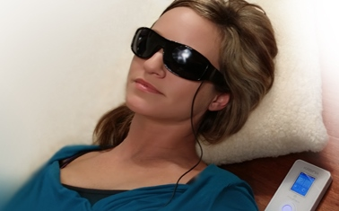 brainwave entertainment, light therapy, the rock spa