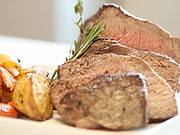 Nu Wave Roast Beef Dinner