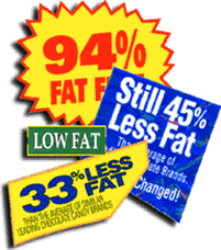 low fat, failure, unhealthy diet, weight loss