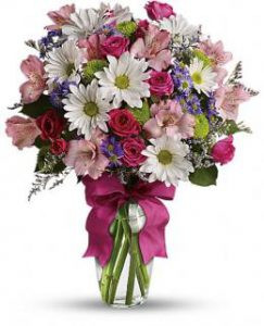 Family Day, Flower Arrangment