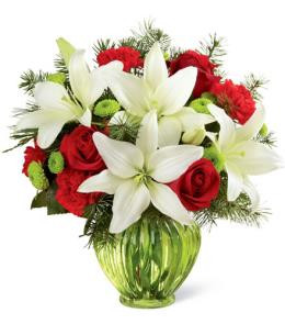 Brant Florist, Winter Flowers, White Lily