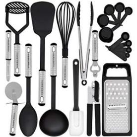 kitchen utensil set, amazon, tiny homes