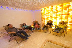salt room, halotherapy, salt therapy, the rock spa kitchener