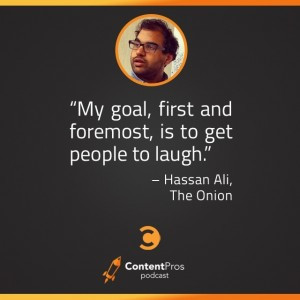 keynote speaker HASSAN ALI - CREATIVE MARKETING DIRECTOR - THE ONION