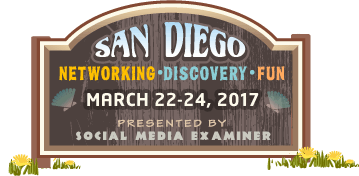 san diego networking Social Media Marketing World 2017 march 22 march 23 march 24 2017