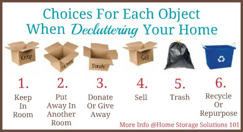 decluttering, choices, tiny home geniuses