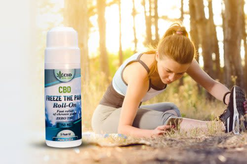 CBD Freeze Pain Roll On Use In Menopausal Pain