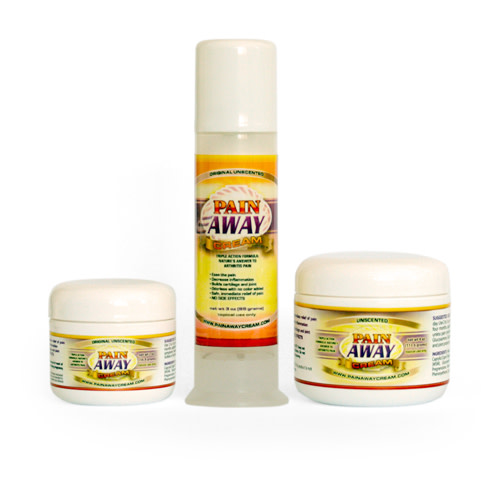 Pain Away Cream by Whole Family Products