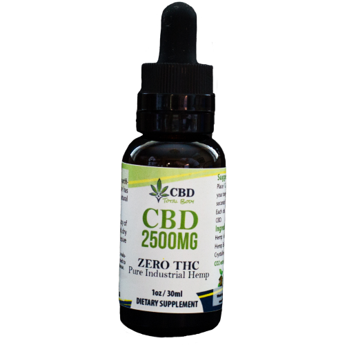 CBD 2500mg with Terpenes