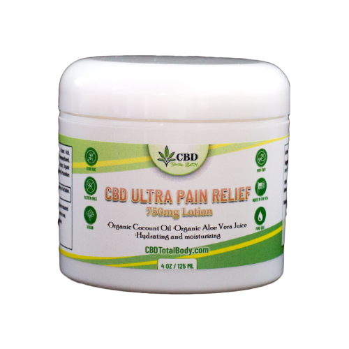 CBD Ultra Pain Relief Cream by Whole Family Products