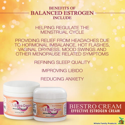 BiEstro Cream for Vaginal Dryness