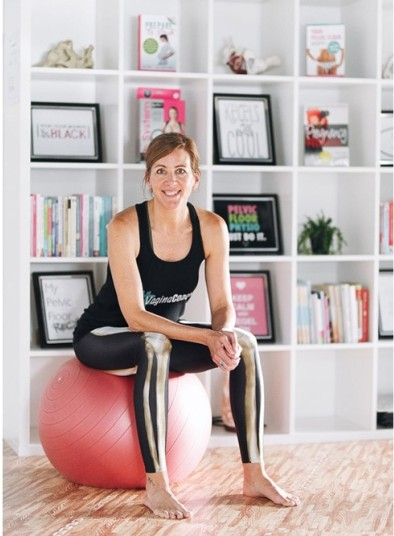 Kim Vopni, The Vagina Coach. Pelvienne Wellness