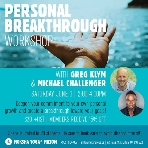 Greg Klym Coaching, Mindfulness