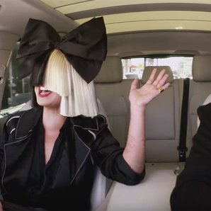 Carpool Karoke: Sia & James Corden