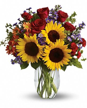 Brant Florist, Burlington, Burlington Florist, sunflowers