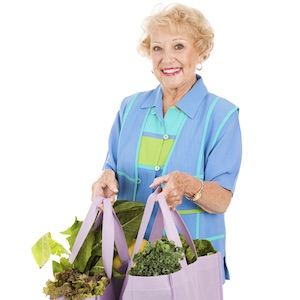 senior shopping healthy foods plan menu groceries nutrition diet vitamins minerals