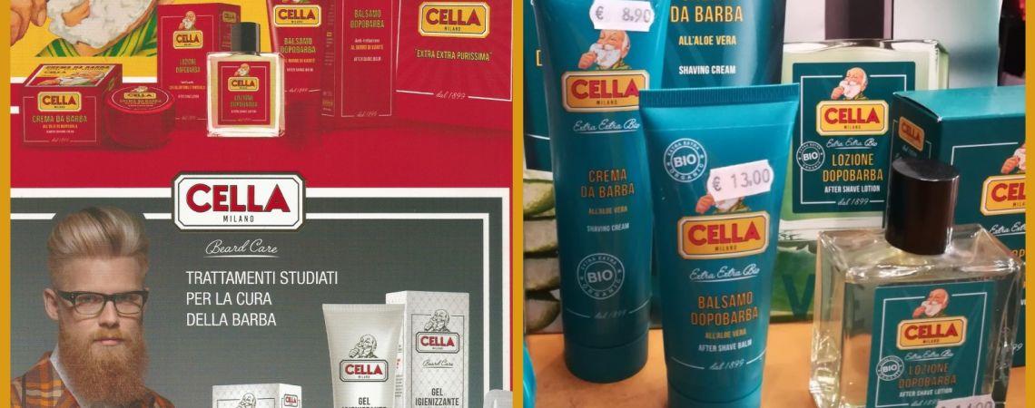 Prodotti per rasatura e cura della barba CELLA                   (MADE IN ITALY)
