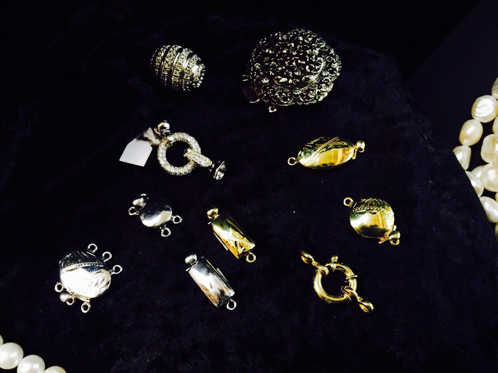 chiusure da collane in argento