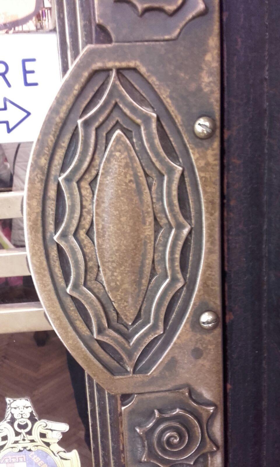 Maniglia antica dell'entrata
