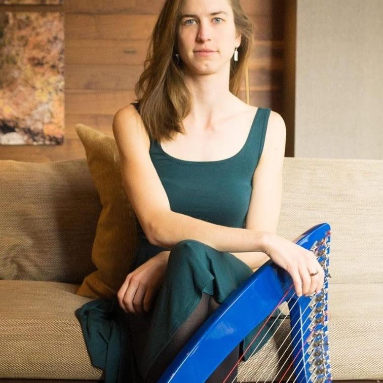 Amelia Romano, harpist